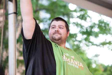 Sean Nichols | Ribmania Ribs Eating Contest at Ribfest Chicago