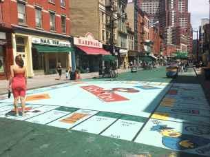 Monopoly Board in Jersey City.