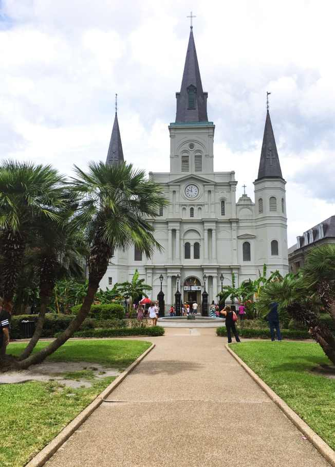 St. Louis Cathedral in New Orleans.