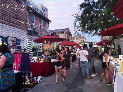 Frenchmen Art Market in New Orleans.