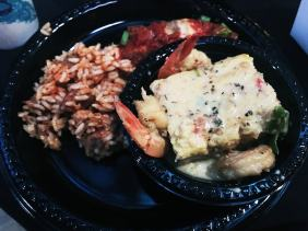 New Orleans food at the Sitecore Symposium.