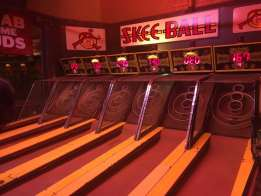 Skee Ball League at Sluggers Bar in Chicago.