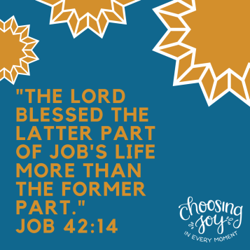 _THe Lord Blessed the Latter part of Job's Life More than the Former Part._