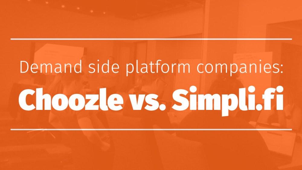 Demand Side Platform Companies Choozle Vs Simpli.fi