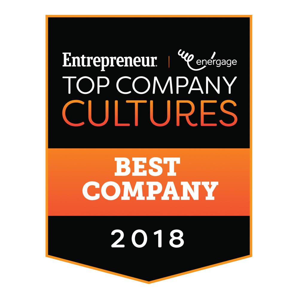 #4 Entrepreneur Top Company Cultures