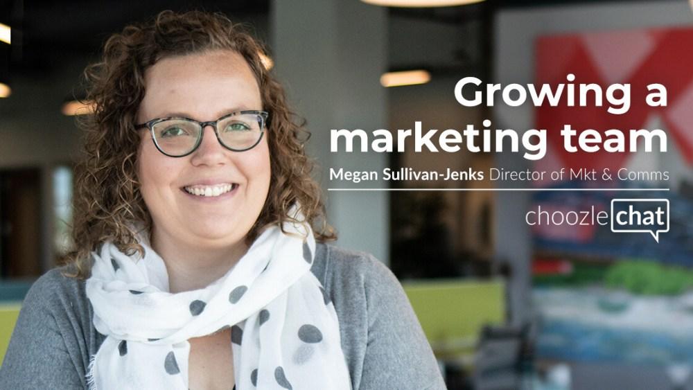 Growing a Marketing Team