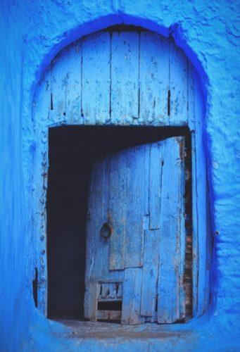bleu Marrakech