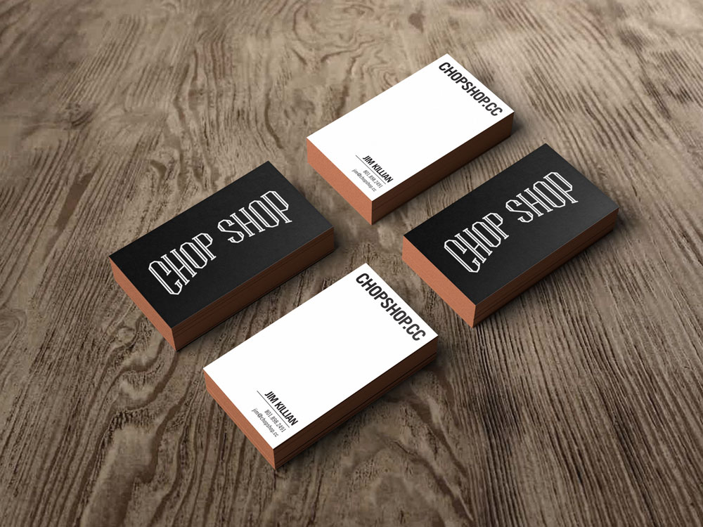 Chop Shop | Chop Shop Business Cards