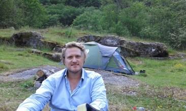 Campsite at Naeroyfjörd