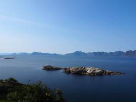 View from the highest point in Henningsvaer