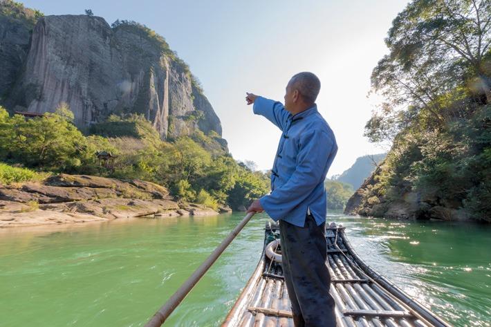 Wuyishan Rafting Commentaries