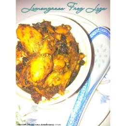 Stir-fried Lemongrass Frog Legs