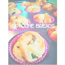 Mini Brioche Breads in Muffin Cups