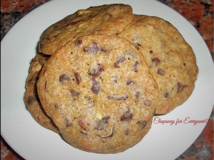 Chocolate Chip Cookies recipe: https://chopsueyathalohalo.wordpress.com/2016/08/25/lebovitzs-chocolate-chip-cookies/