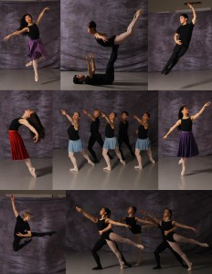 Dancers from The Studio of Classical Dance Arts