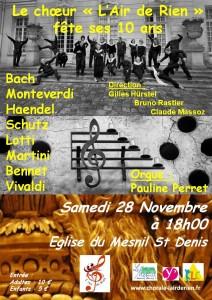concert 28 Novembre