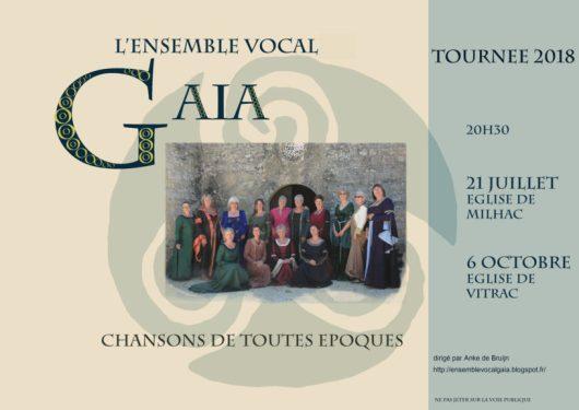 Gaia sont de retour!