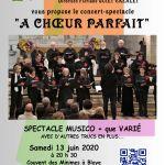 Concert de fin d année – Affiche provisoire
