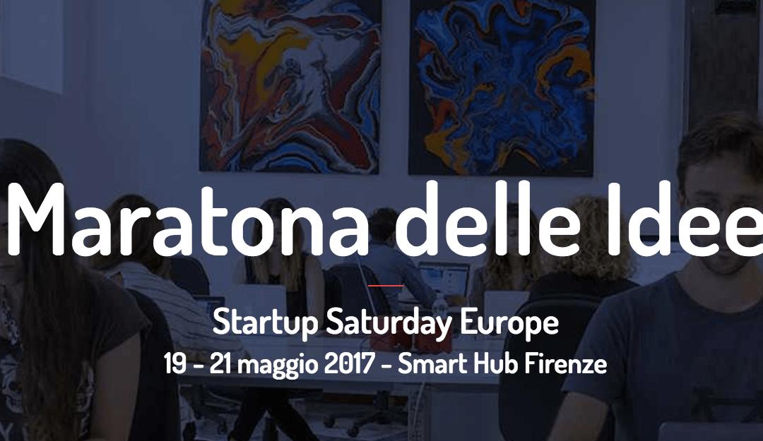 Maratona delle idee: 19, 20 e 21 maggio a Firenze! #hackaton