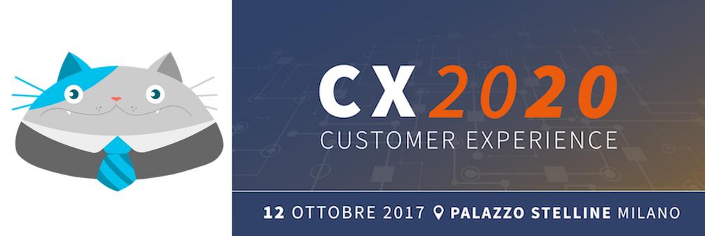 CX2020 – Esplorare il futuro della relazione con il cliente – Milano 12 ottobre