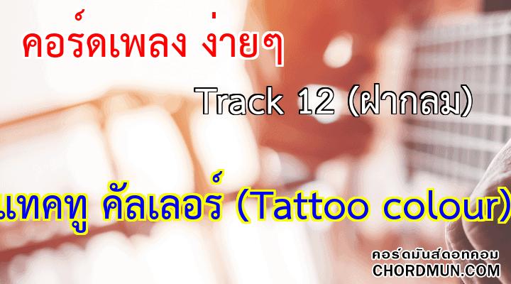 คอร์ดเพลง ง่ายๆ เพลง Track 12 (ฝากลม)
