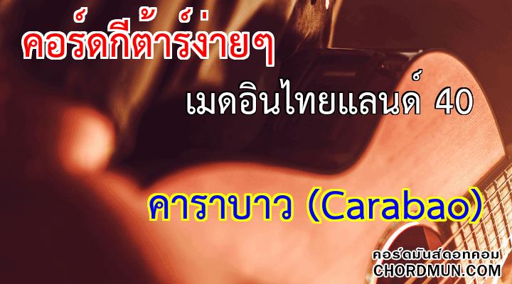 คอร์ดกีต้าโปร่ง เพลง เมดอินไทยแลนด์ 40