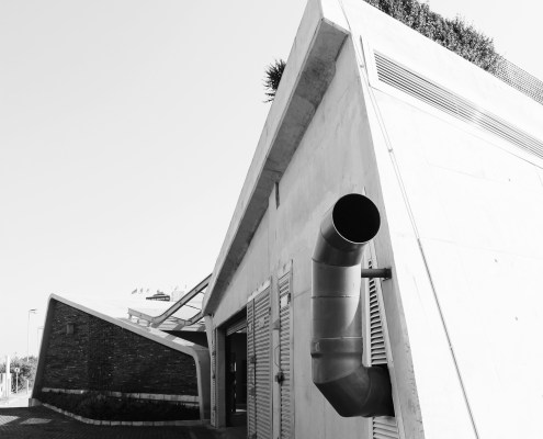 Point Sewer Pump Station. Choromanski Architects