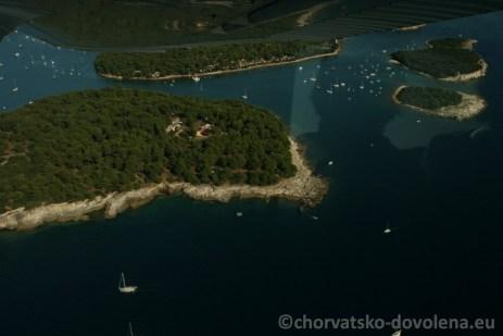 Veruda - kempy Chorvatsko