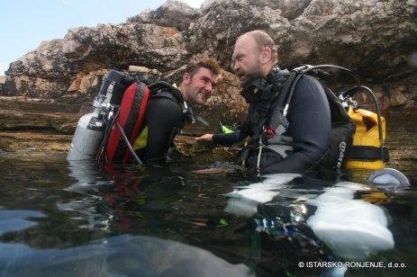 Potápění v Chorvatsku - Rebreather