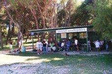 Bufet na ostrově Veruda