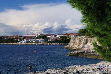 Park Plaza Verudela - ohled z ostrova Veruda