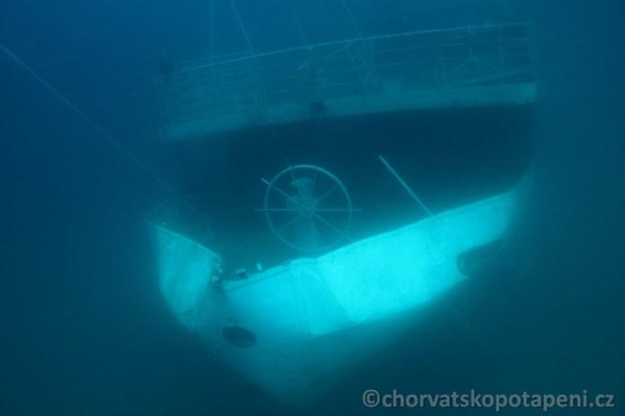 Vis záď lodi