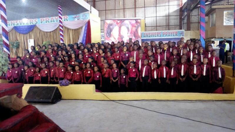 Children Choir Ministering