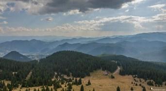 Изглед от кулата на връх Снежанка