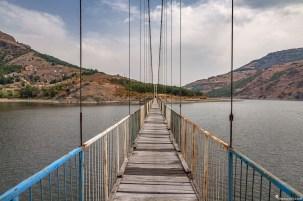 въжен мост към с. Лисиците