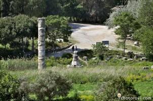 Останки от храмът на Артемида