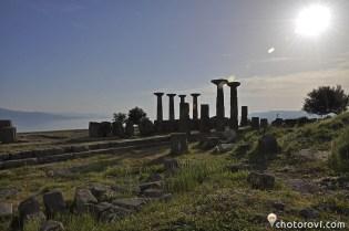 Храмът на Атина, Асос