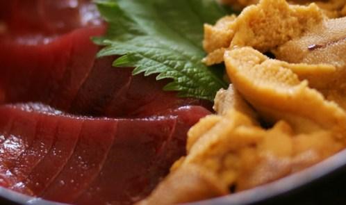 「マグロウニ丼」の画像検索結果