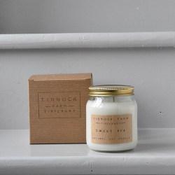 Candle jar - Sweet pea