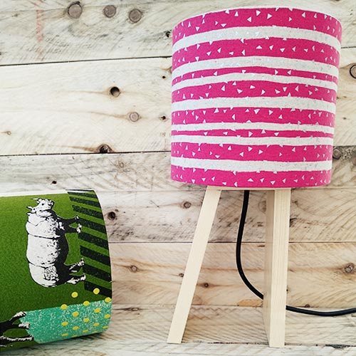 lampshade-pink-white-lines
