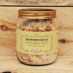 Oat and Chamomile bath salts
