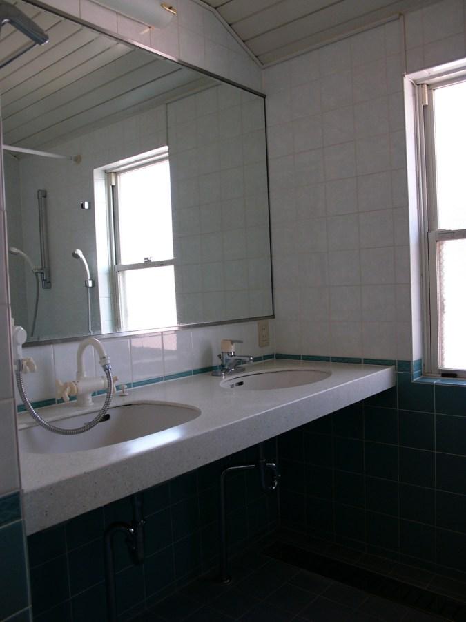 Denenchofu House B Main Bathroom