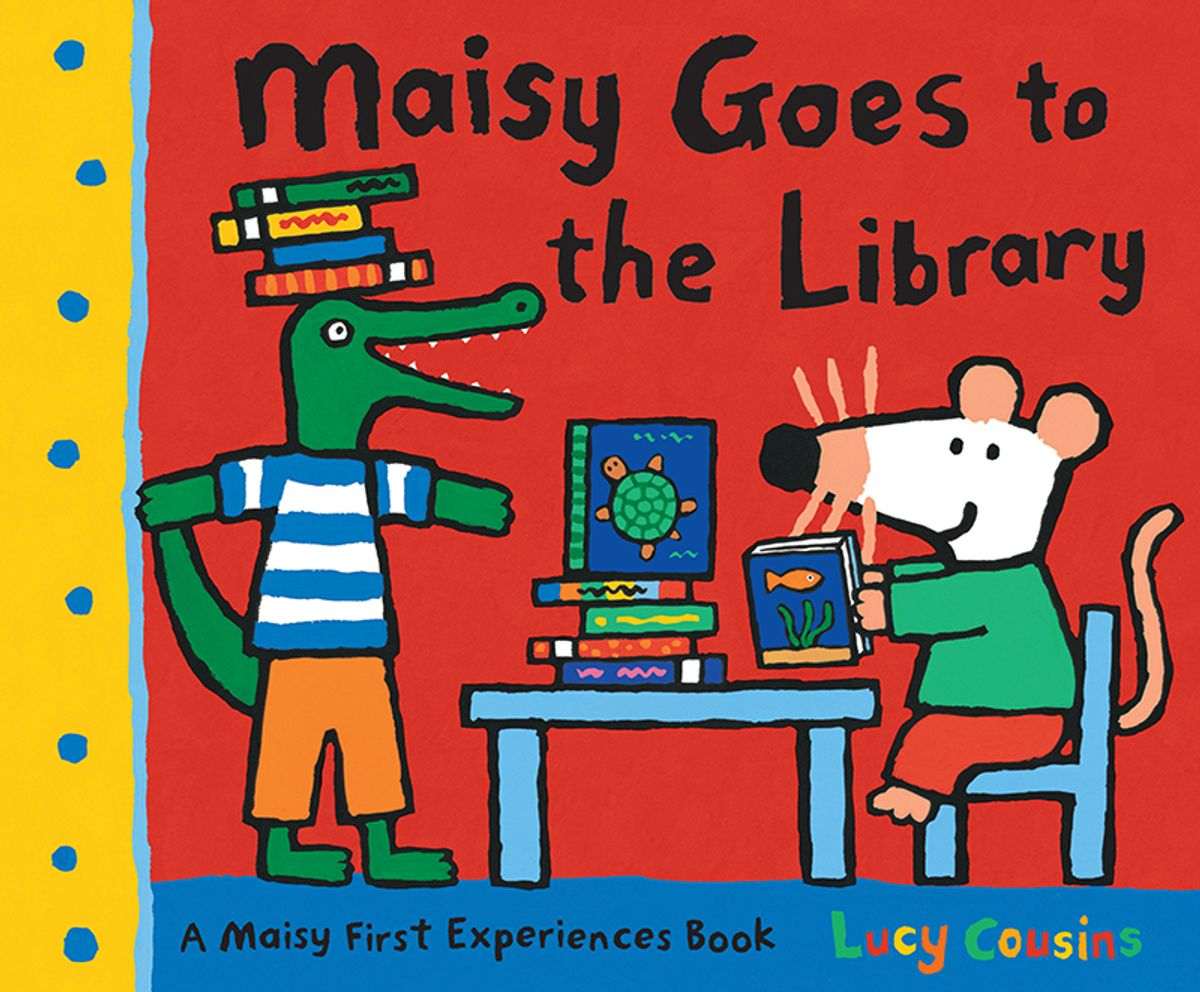 01 Maisy goes to the library