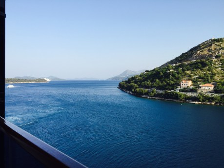 View from our holland America ship.