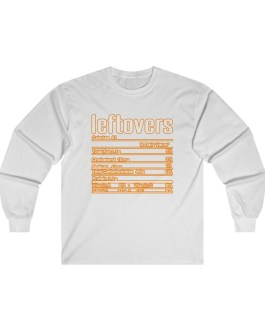 Leftovers – Nutritional Facts Long Sleeve Tee