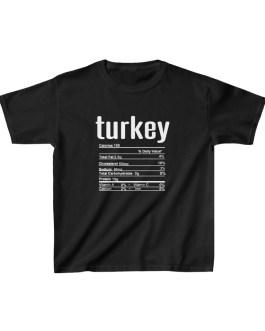 Turkey Nutritional Facts Kids Heavy Cotton™ Tee