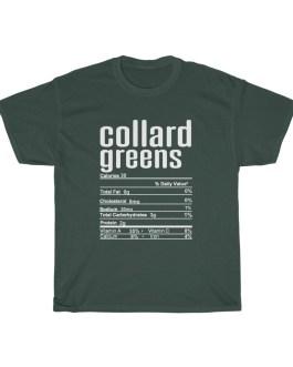 Collard Greens – Nutritional Facts Unisex Heavy Cotton Tee