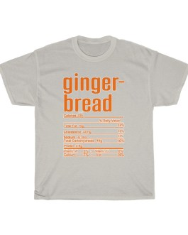 Gingerbread – Nutritional Facts Short Sleeve Tee