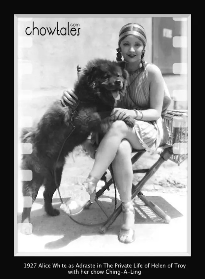 Alice White in Helen of Troy 1927 with Ching-A-Ling