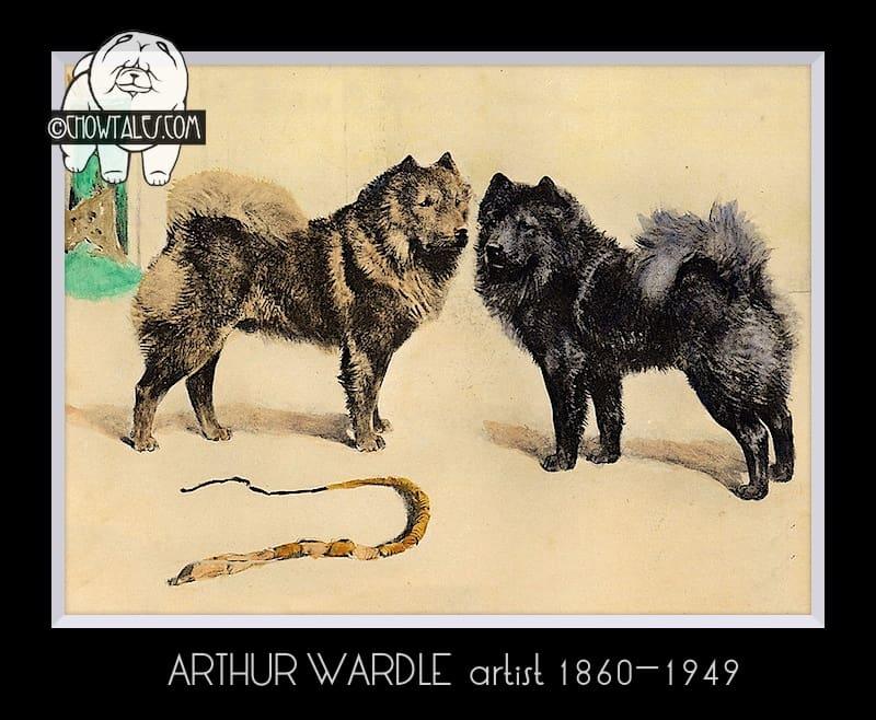 English print Arthur Wardle